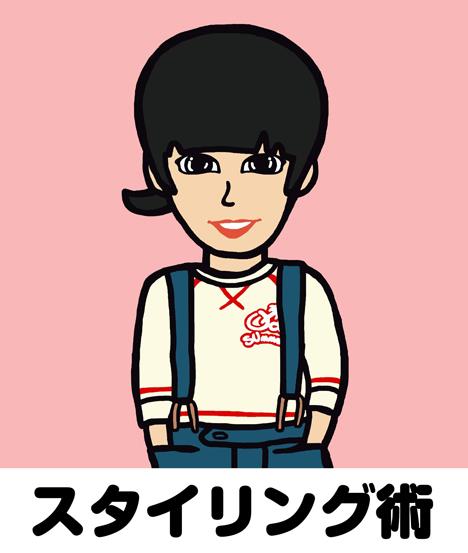 純子さんのスタイリング術